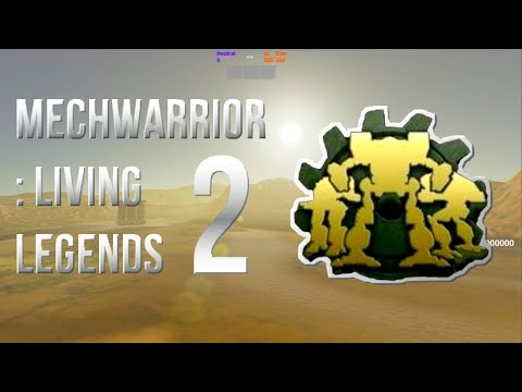 MechWarrior: Living Legends 2! New multiplayer Mechwarrior game! Pre-alpha footage (March, 19, 2021)