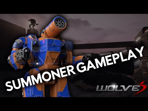 Summoner Gameplay Demo! | Wolves, The Fan-made Mechassault Game