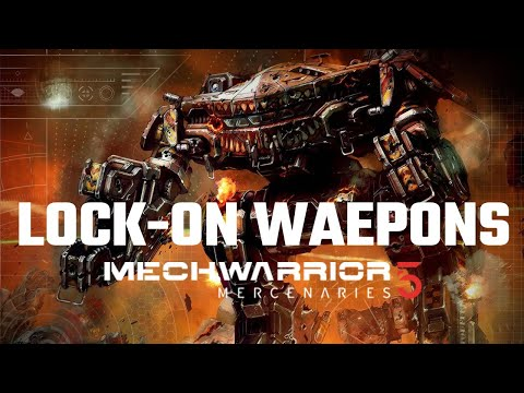 Lock-on Weapons (LRMs) in Mechwarrior 5: Mercenaries | Full Mission Gameplay