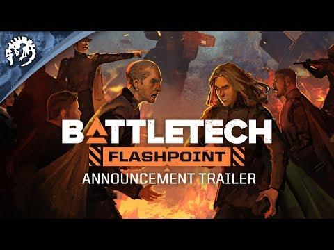 BATTLETECH: Flashpoint - Announcement Trailer