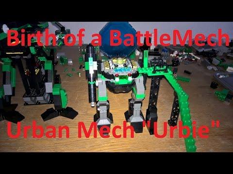 Battletech - Lego - Birth of a Battle Mech - Urban Mech (complete)