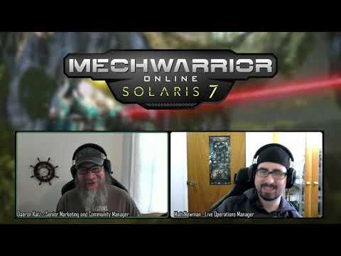 MechWarrior Online April Dev Vlog 01