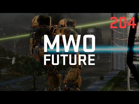 Podcast 204 - Mechwarrior Online's Future