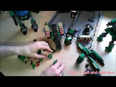 Battletech - Lego - Birth of a Battle Mech - Episode 3 - Mad Dog (complete)