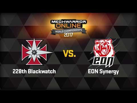 MechWarrior Online World Championships Round 1 Game 1