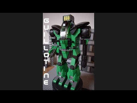 Battletech - Lego - Birth of a Battle Mech - Episode 44 - Guillotine (complete) - Stop Motion