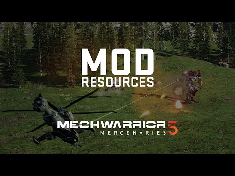 Mechwarrior 5 Mercenaries Modding Resources