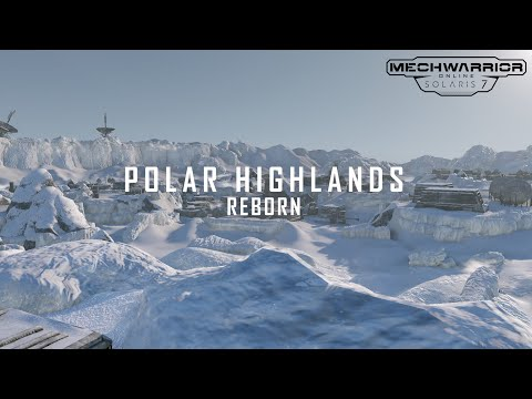MechWarrior Online Polar Highlands Quick Preview