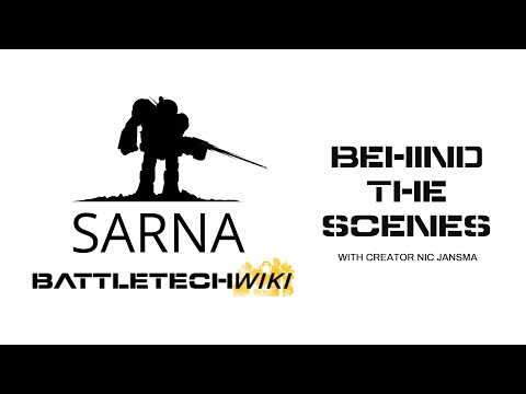 Behind the Scenes of SARNA.NET with Creator Nic Jansma