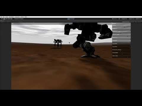 Mechwarrior 3 early Unity 5 6 5f1 port test.