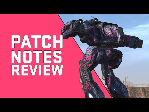 Mechwarrior Online Patch Notes Review - March 2021
