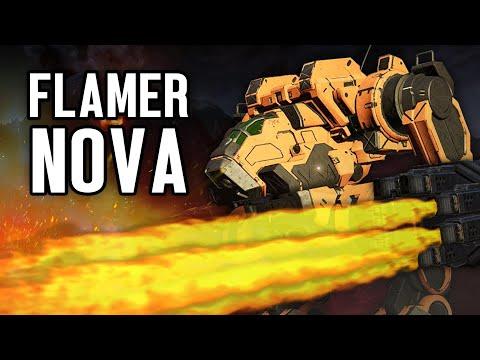 TheB33F - FLAMER NOVA GUIDE | Mechwarrior Online