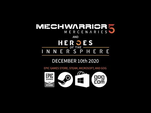 RazerCon 2020 MechWarrior 5 Merc DLC Heroes of the Inner Sphere