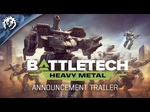 BATTLETECH: Heavy Metal | Announcement Trailer UNRATED