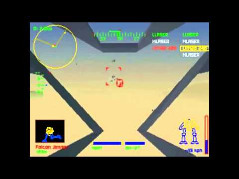 Mechwarrior 2 Playthrough: Clan Wolf - Mission 1 - Pyre Light