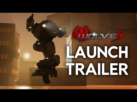 Wolves Wave 2 Launch Trailer | MechAssault Fangame Available Now For Free!