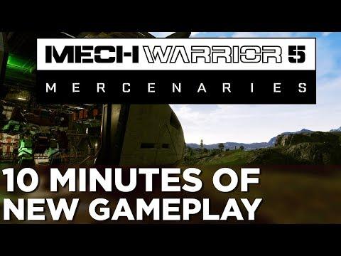 MechWarrior 5: Mercenaries — 10 Minutes of NEW GAMEPLAY