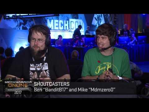 MechWarrior Online World Championships Round 5 Game 3 (Game 2 rematch)