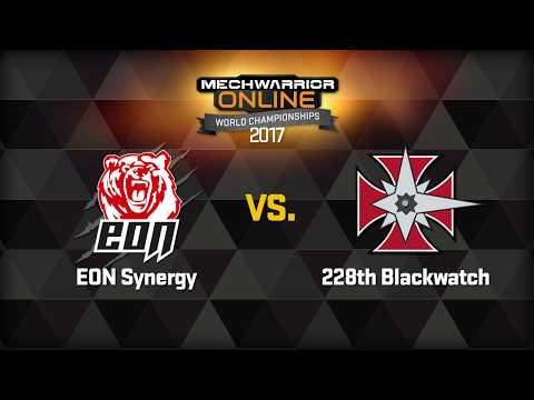 MechWarrior Online World Championships Round 3 Game 1