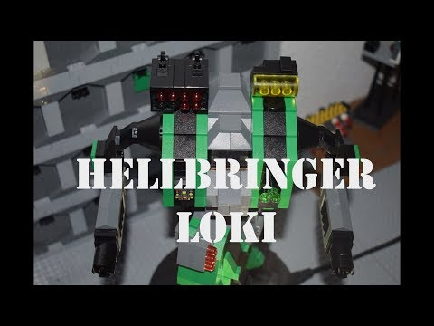 Battletech - Lego - Birth of a Battle Mech - Episode 51 - Hellbringer (Loki) - Stop Motion