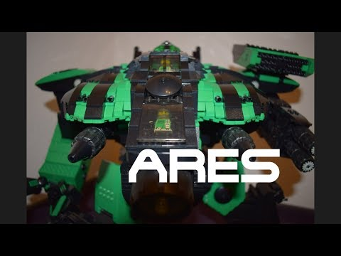 Battletech - Lego - Birth of a Battle Mech - Episode 33 - Ares (complete) - Stop Motion