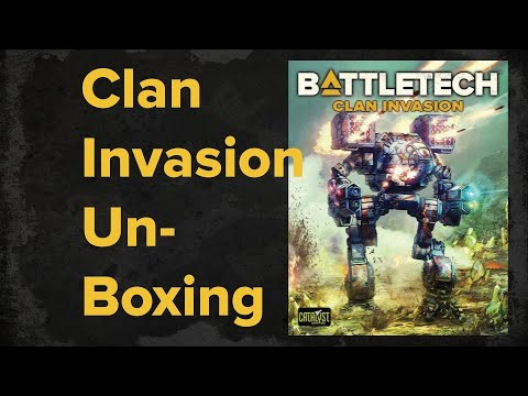 Battletech Clan Invasion Unboxing