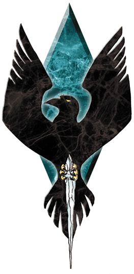 Clan Snow Raven Logo