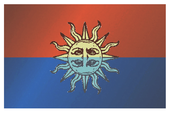 Planetary flag of Harrow's Sun
